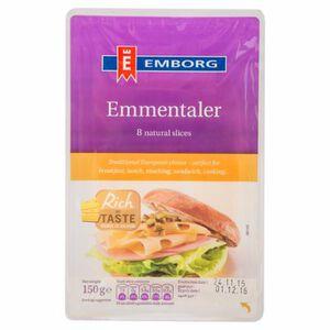 安博格 EMBORG 艾蒙塔乾酪片-150g