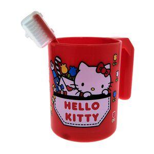 Kitty美樂蒂牙刷杯組-顏色隨機出貨