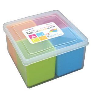 G-1200 巧麗方型四分格密封盒1