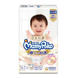 滿意寶寶極上の呵護紙尿褲L-52PC