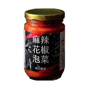 扒扒飯-麻辣花椒泡菜260g-五辛素