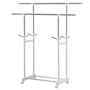 Stainless steel double pole hanger