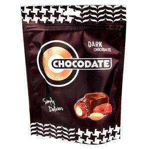 杜拜Chocodate椰棗杏仁果黑巧克力短效期,最長期限至2022-01-27