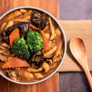祥和蔬食 咖哩鮮菇煲-450克(全素)