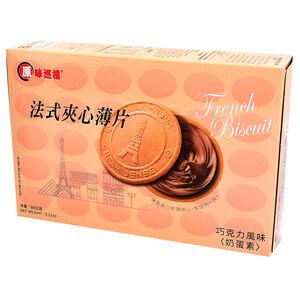 原味巡禮法式夾心薄片-巧克力