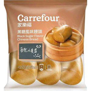家樂福黑糖風味饅頭420g