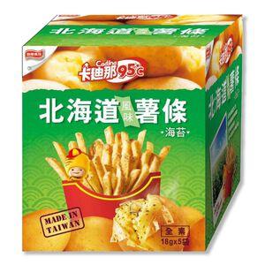 卡迪那95度C 北海道薯條-海苔