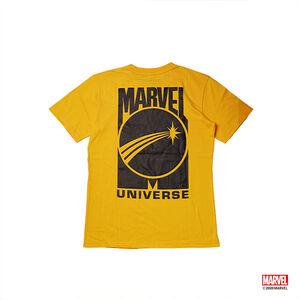 漫威宇宙款短袖T恤-橘色