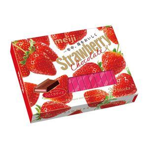 明治草莓夾餡巧克力26枚盒裝120g