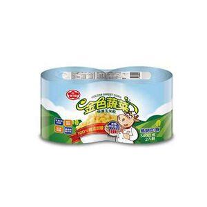 牛頭牌金色蔬菜特選玉米粒(易)340gx2
