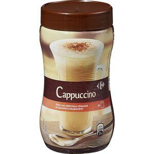 家樂福進口即溶卡布奇諾咖啡粉-287g