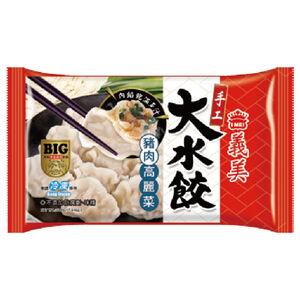 義美手工大水餃- 豬肉高麗菜500g