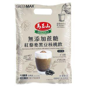 馬玉山無添加蔗糖紅藜麥黑豆核桃飲30gx12
