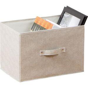 【收納】淳/三層櫃抽屜置物盒/橫式~米白、咖啡二色.隨機出貨