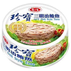 愛之味珍寶三明治鮪魚-110g