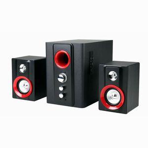 JY3064 藍牙無線2.1三件式全木質喇叭