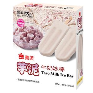 義美芋泥牛奶冰棒87.5gx5