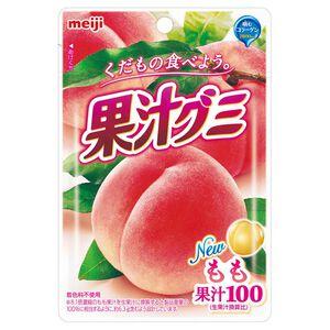 明治果汁QQ軟糖-白桃口味-51g