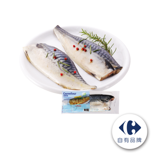 家樂福鹽漬鯖魚片(每包淨重約180克)