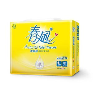 春風柔韌感山茶花抽取衛生紙-110PC