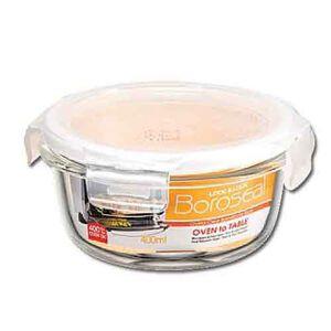 【保鮮盒】第三代樂扣玻璃保鮮盒400(圓)