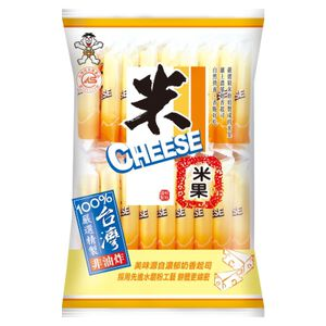 Want Want Cheese Flavor Rice Crackers