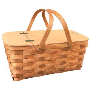 Turbo Tent Wooden Pinic Basket
