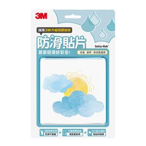 3M浴室地板防滑貼片-渲染