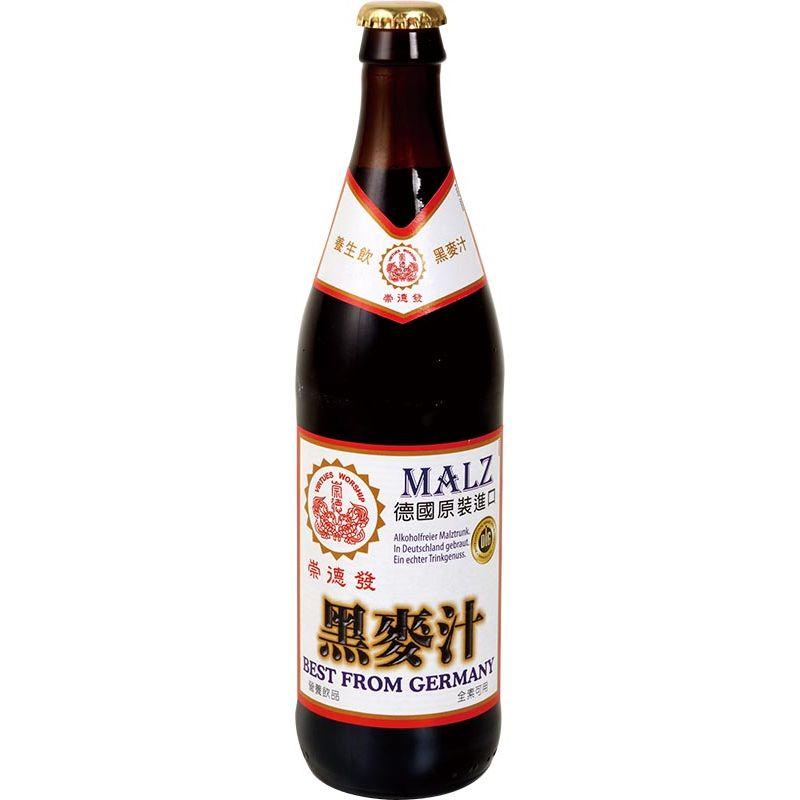 崇德發天然黑麥汁Btl500ml