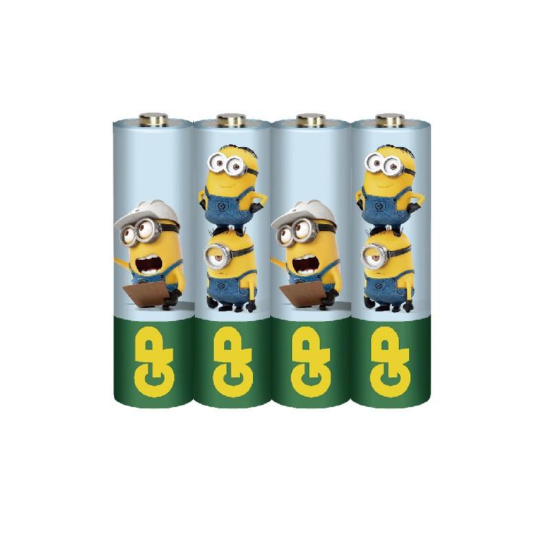 小小兵碳鋅電池3號4入